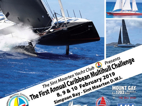 Caribbean Multihull Challenge - February 8,9,10 2019 Celebrate the difference!