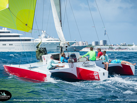 An exceptional weekend ahead for the 15 entries of the third Annual Caribbean Multihull Challenge