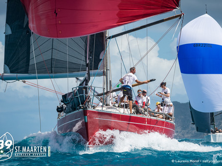St. Maarten Heineken Regatta -  Race Report - Day 1