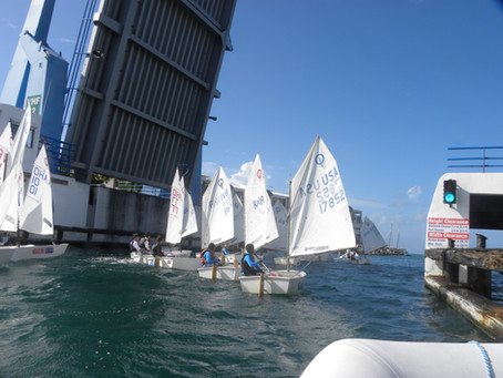 Fun Sails and Dinghy Series back at the Sint Maarten Yacht Club!