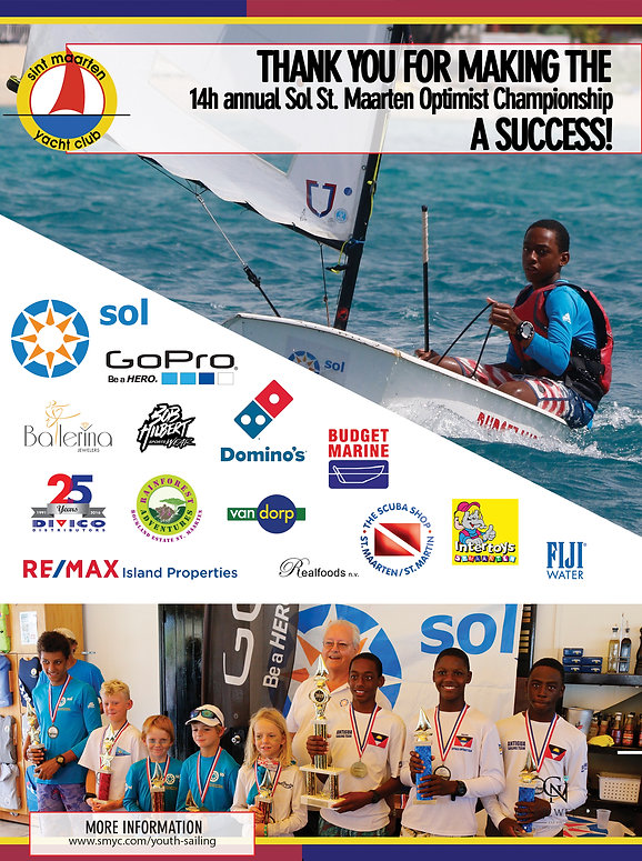 Thank you ad sol optimist regatta 2019.j