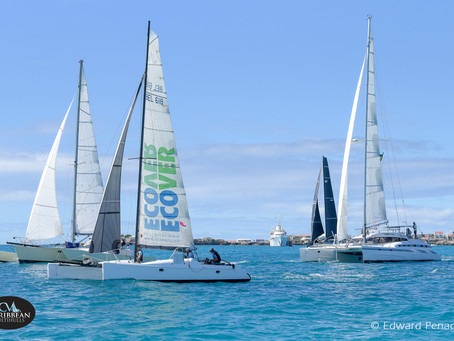 Local knowledge was the key to success on day 1 of the third annual Caribbean Multihull Challenge