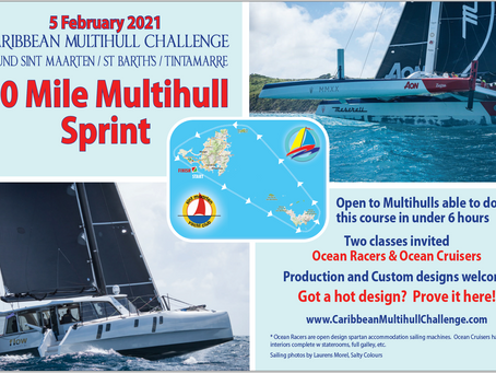 Notice of Race Caribbean Multihull Challenge online!