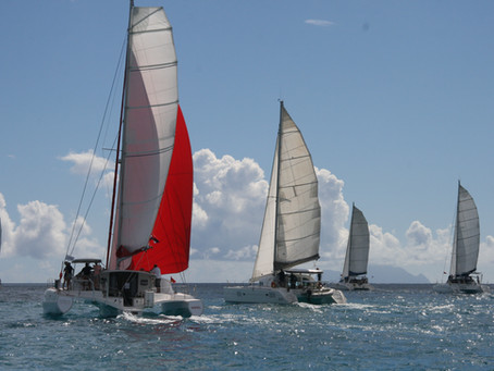 In Perfect Conditions, An Eclectic Fleet of 15 Competitors Set Sail in the Inaugural Edition of the