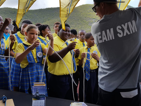 Sailing promoted during the SXM Sports Day