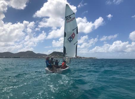 SintMaarten Yacht Club takes kids fromNew Start for Children Foundation sailing