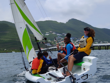 Sint Maarten Yacht Club sailing around the island to raise money for youth sailing