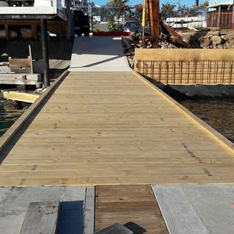 Reconstruction dock