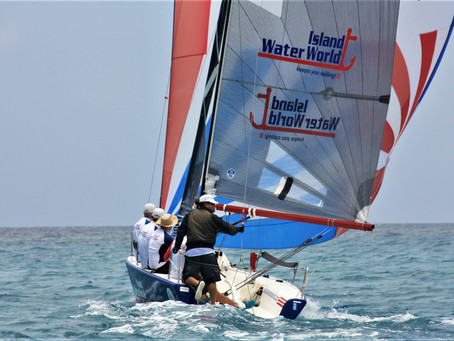 Team Island Water World, MoonDance/Kidz at Sea and Garth Steyn win the Grant Thornton Keelboat Serie