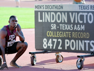 Lindon Victor Sets NCAA Decathlon Record