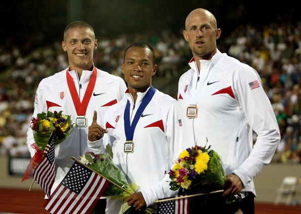 2008 Olympic Trials - Decathlon Podium