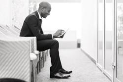 Confident businessman waiting for an interview 2015-10-5-12:40:58