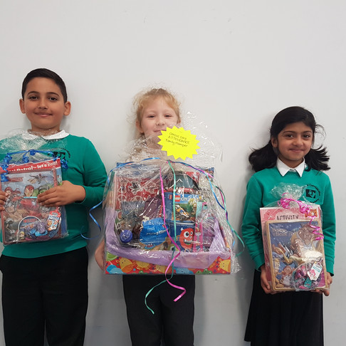 Census Day Attendance Hamper Winners!