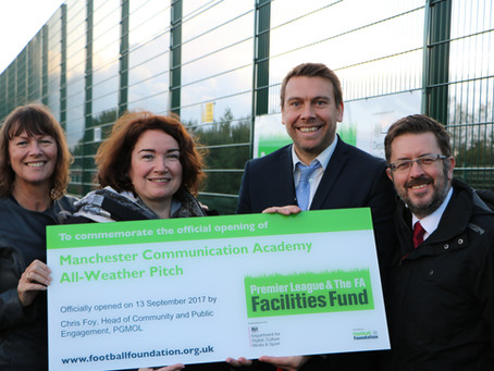 New All-weather Pitch Unveiling