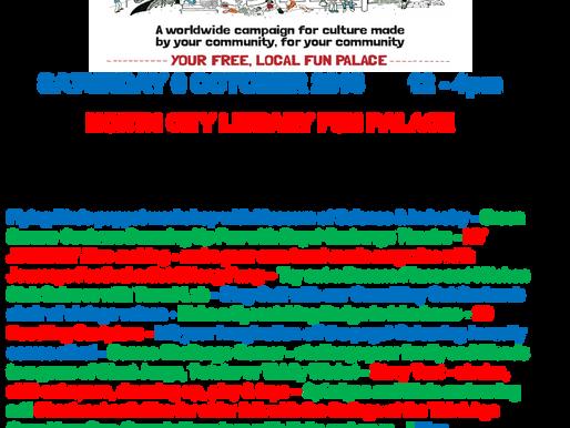 Palaces Free Fun Day at North City Library