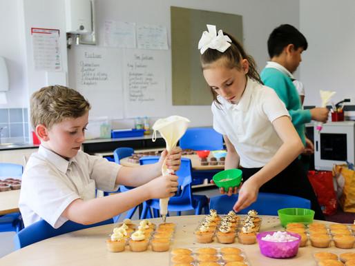 Fundraising Cupcake Decoration