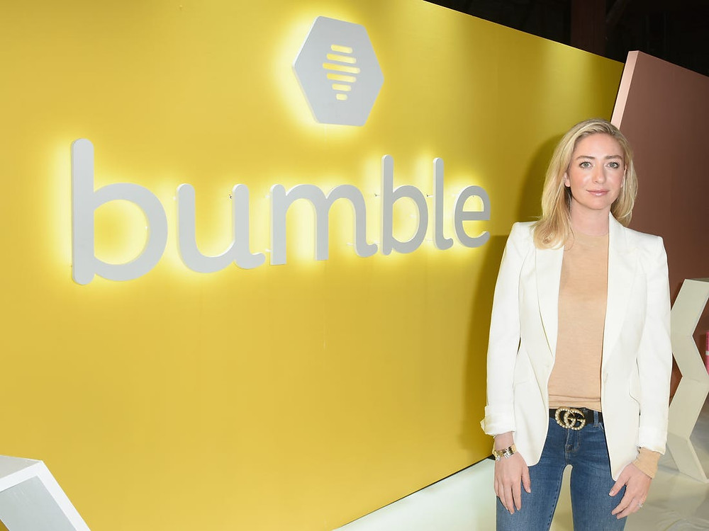 Mulheres em Tecnologia - Whitney Wolfe Herd - Startup Bumble