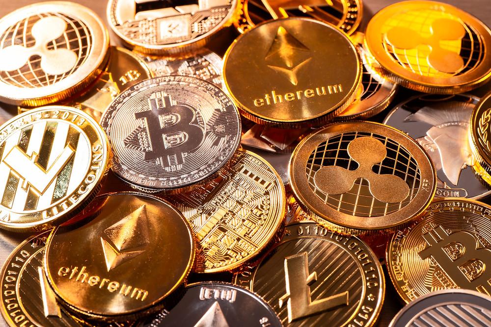 Cripto Moedas - BitCoin, Ethereum - em mai/21