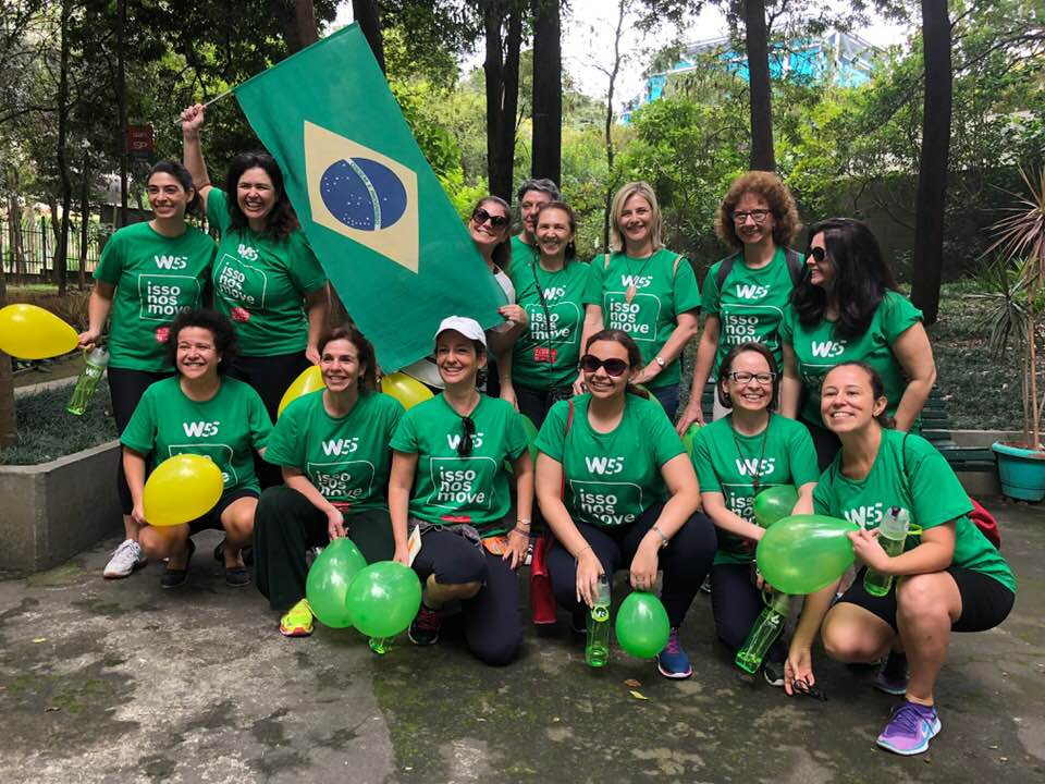 "Mentorando no ""Global Mentoring Walk"""