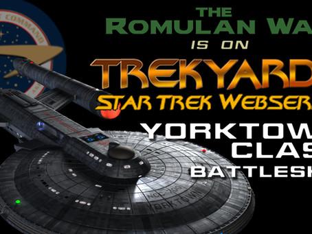 Trekyards Profiles TRW's Yorktown-Class Battleship!