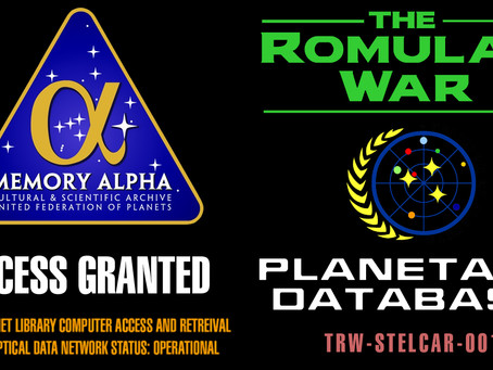 The Worlds of The Romulan War (Coalition of Planets)