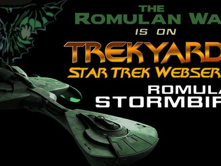 The Romulan Stormbird Debuts on Trekyards!