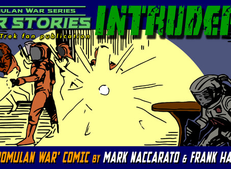 """Intruders"": A New Romulan War Comic!"