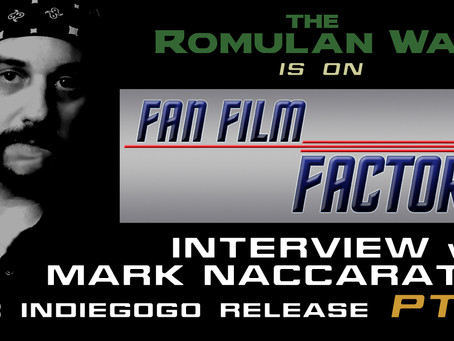 Part 2 of Fan Film Factor's Coverage on TRW's Indiegogo Campaign!