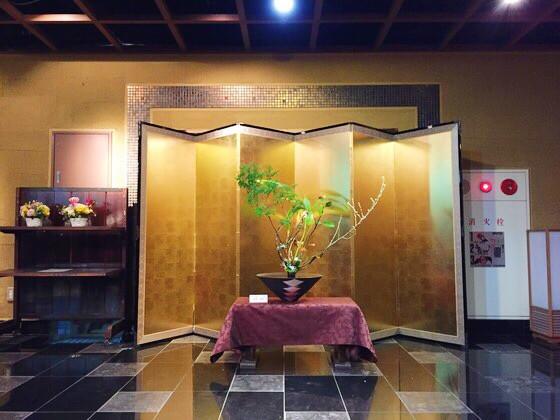 奈良のいけばな教室日記と3分でわかる花 【奈良 日本料理おばな ホテルアジール 桃】
