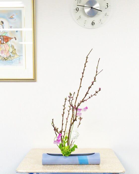 奈良のいけばな教室日記と3分でわかる花を上手にいけるコツ 【奈良 瑞浪 調和 チームビルディング】