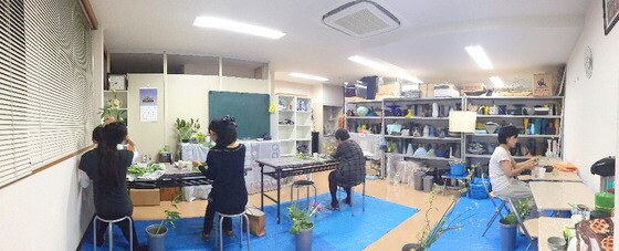 奈良の生け花教室報告と3分でわかる花 【奈良 いけばなを楽しむ会 姫りょうぶ(こばのずいな)】