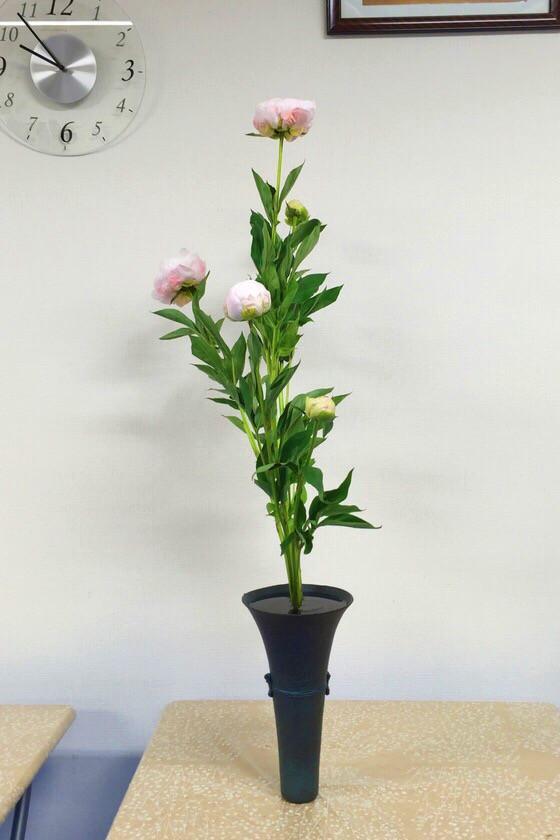 奈良の生け花教室レポートと3分でわかる花 【奈良 高の原 瑞浪 奈良女子大学 イオンモール高の原 かきつばた】