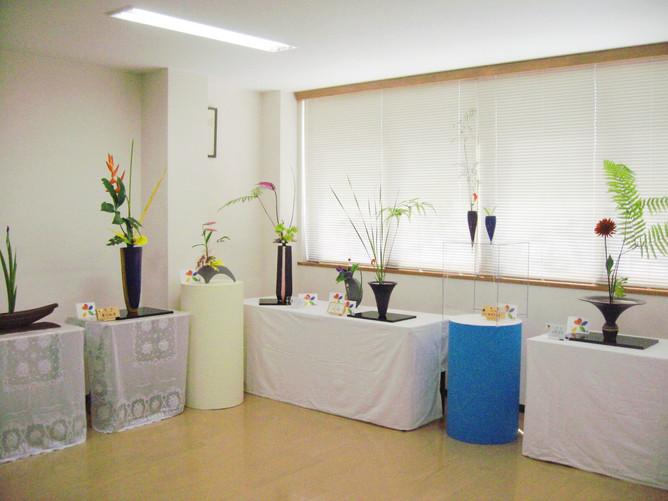 奈良市生け花教室の花展終了しました
