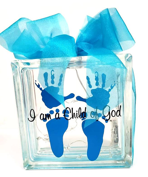 Baby Boy Light Box