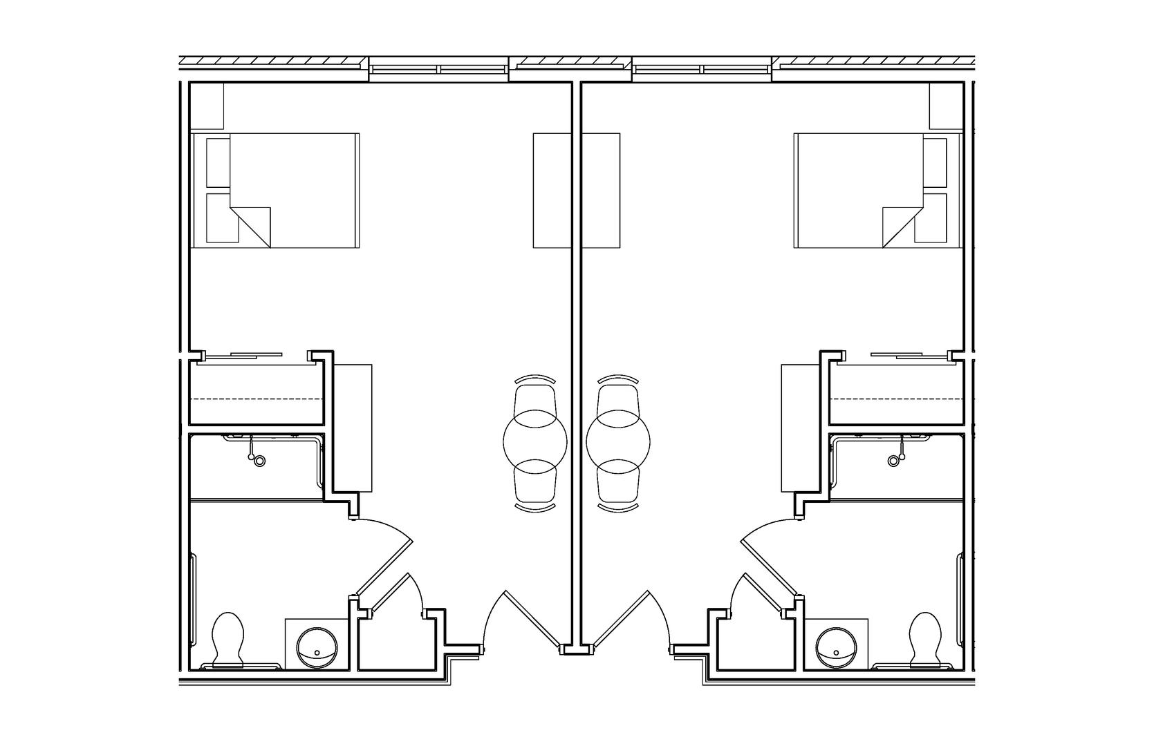Carolina Suites - Room Layout