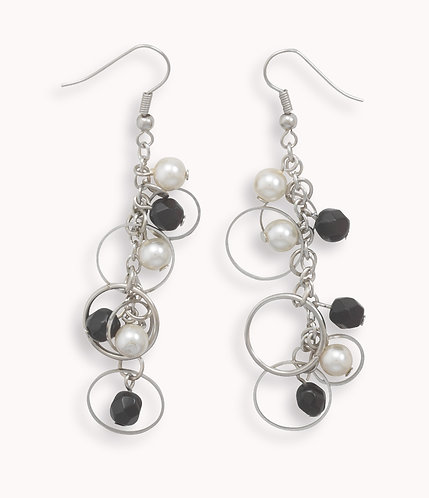 Bead Fashion French Wire Earrings