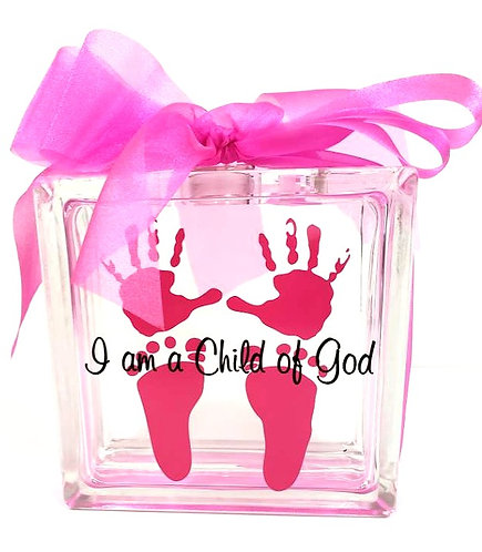 Baby Girl Light Box