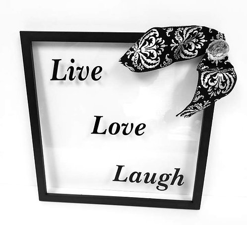 Live, Love, Laugh Frame