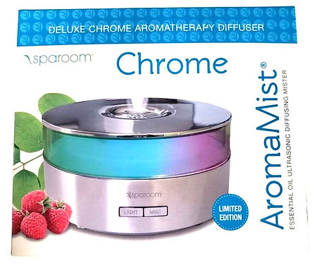 Deluxe Chrome Aromatherapy Diffuser