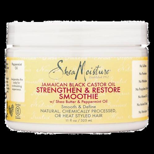 Shea moisture jamaican black castor oil strengthen&restore  leave-in conditioner