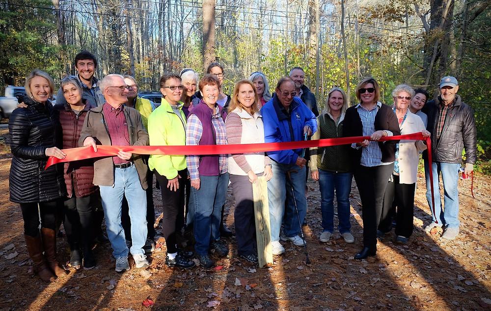 Welch Woods Trail Ribbon Cutting in Arundel,  Maine