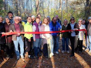 Welch Woods Trail Dedication and Ribbon Cutting