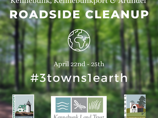 """""""Three Towns, One Earth"""" Neighborhood and Roadside Clean-up"""