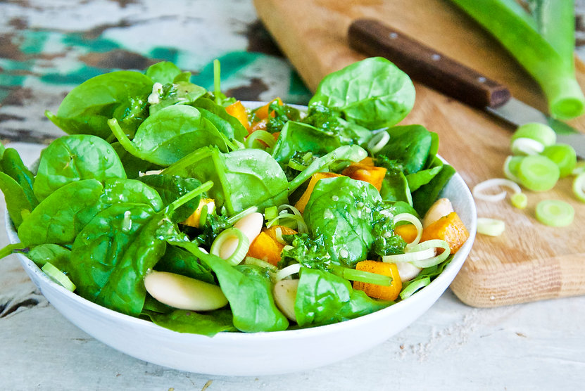 Spinach and persimmon salad 2.jpg