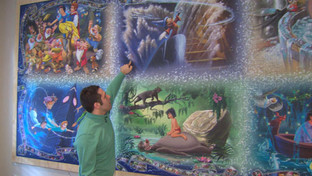"""Jack is """"Making Autism Great,"""" By Creating Intricate Puzzle Murals in Record Time"""