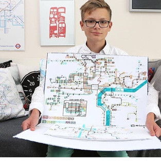 13-year-Old Boy Turns His Love of Maps Into a Business