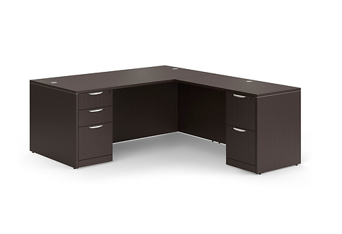 """Full Double """"L"""" Desk Packages"""