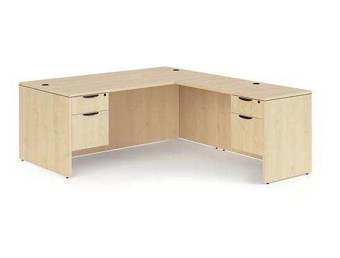 """3/4 Double """"L"""" Desk Packages"""