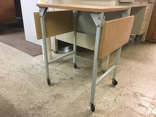 Steel Printer Table on Wheels