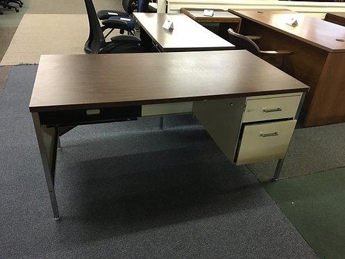 Hanging Ped Metal Desk